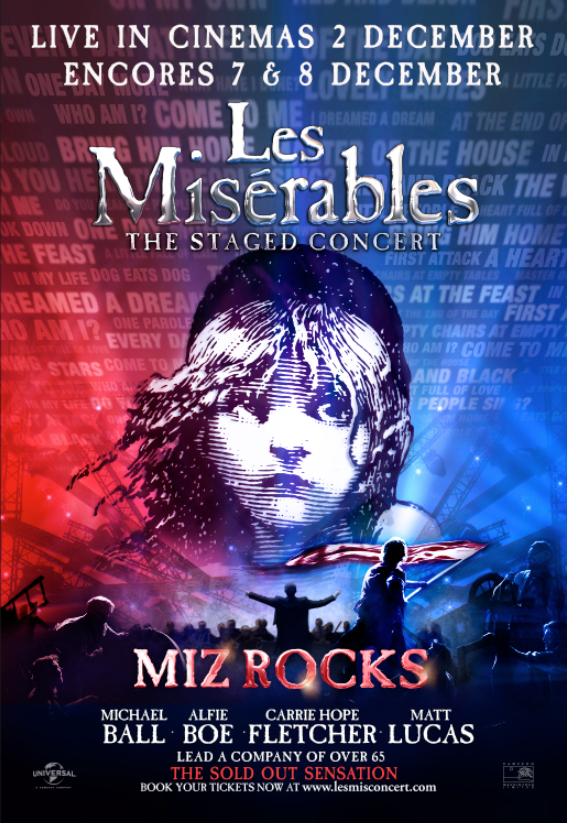 ดูหนังใหม่ Les Misérables: The Staged Concert (2019)