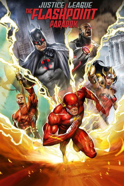 Justice League The Flashpoint Paradox (2013)