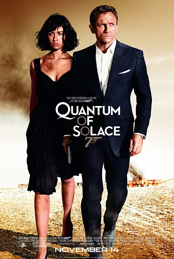 James Bond 007 Quantum of Solace 007 (2008)